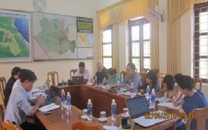 Phong Nha – Ke Bang National Park: Deploying phase III, the technical component GIZ.